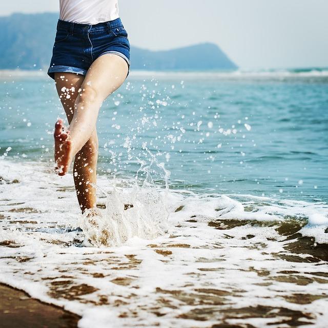 partir en vacances plage