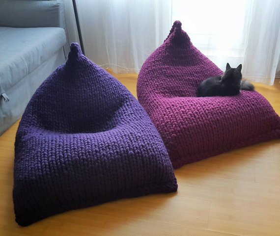 coussin bulbe chat