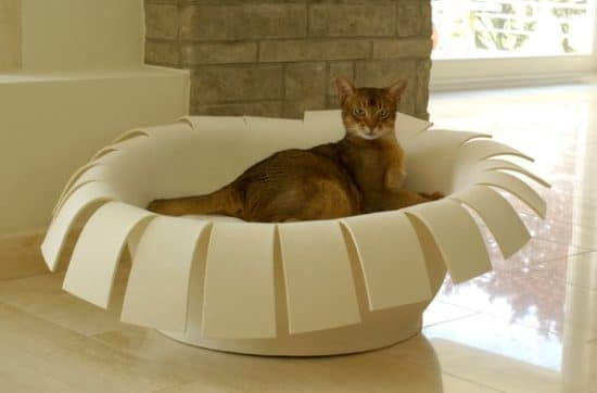 coussin luxe chat