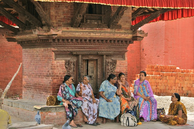 femmes du népal