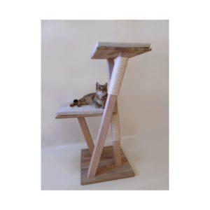 arbre à chat artisanal français bois