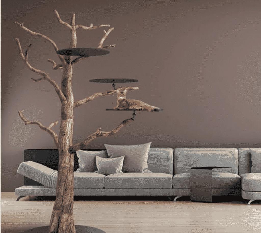 Arbre A Chat Mural Design l'arbre à chat made in france : des artisans spécialisés