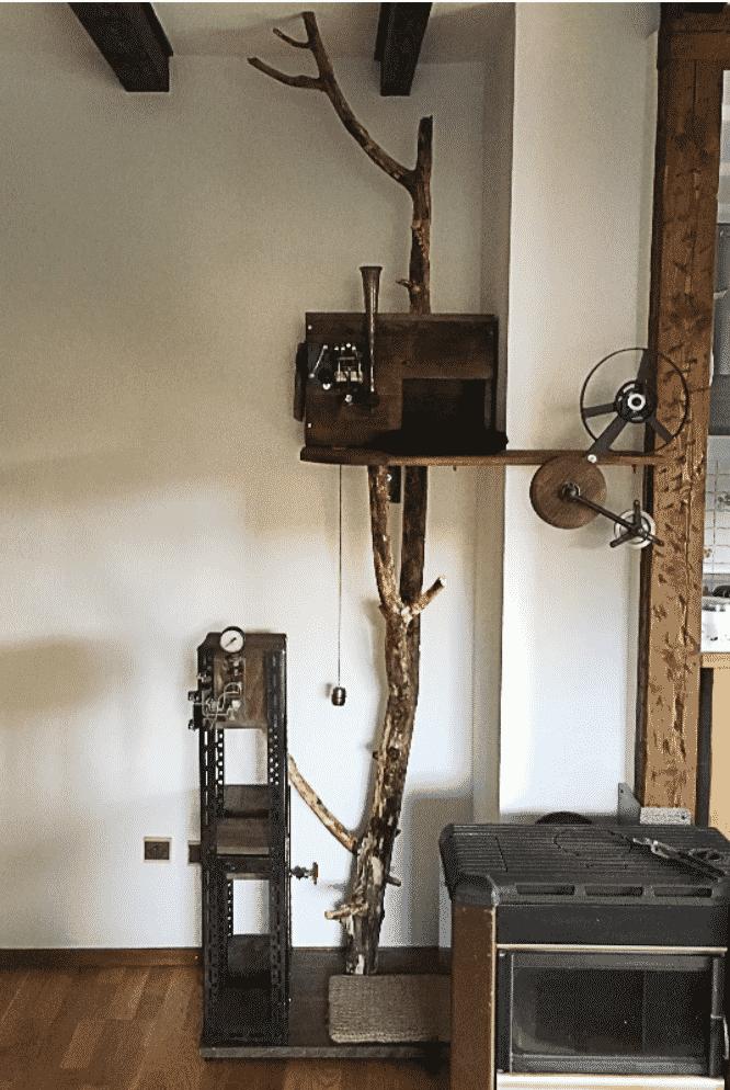 arbre à chat france vintage