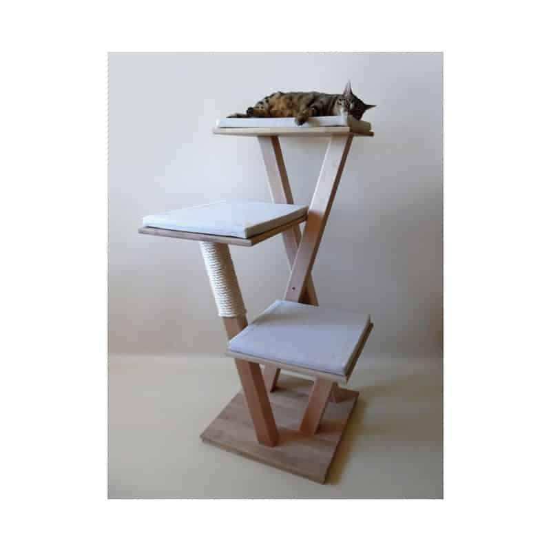 arbre a chat bois artisanal français