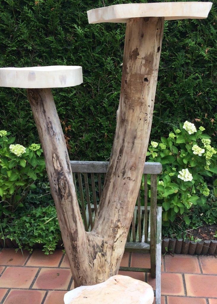 arbre a chat bois flotte artisanal