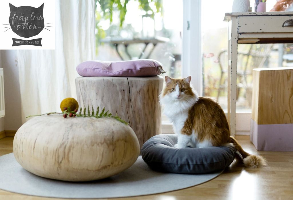 coussin design rond simple