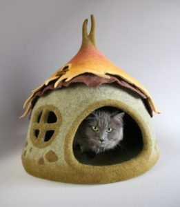 grotte chat lutin champignon