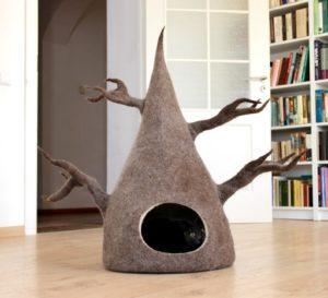 grotte chat style caverne arbre