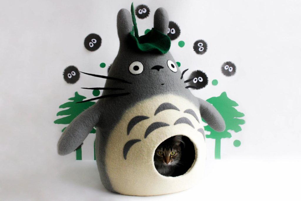 grotte chat totoro