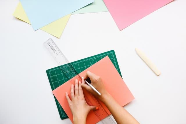 papier regle croquis plan tracer