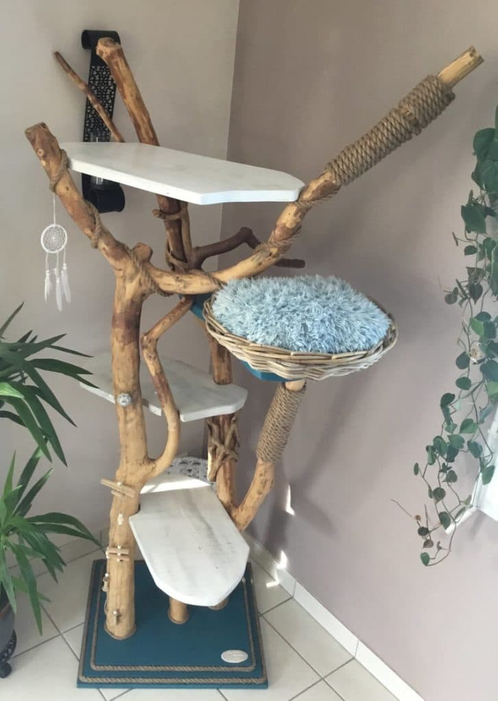 arbre a chat artisanal julie design