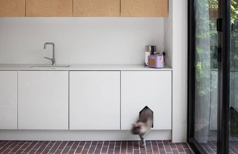 chatière intérieure buffet