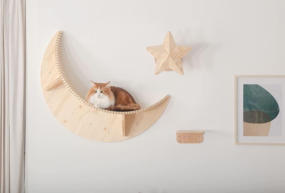 objet design chat moderne
