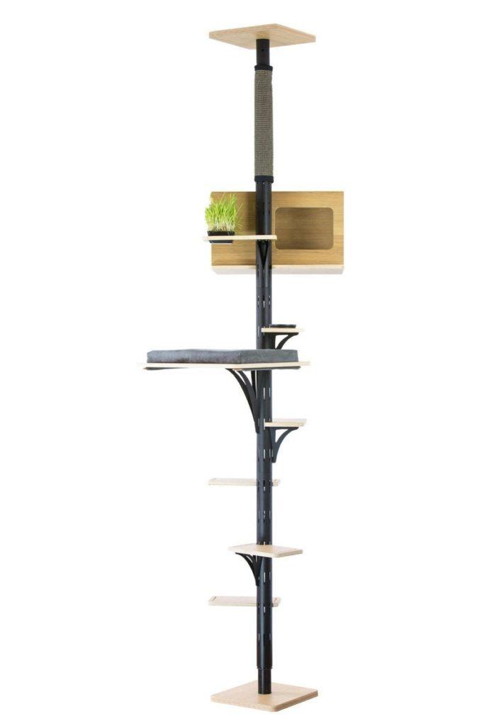 arbre a chat design hauteur plafond ajustable