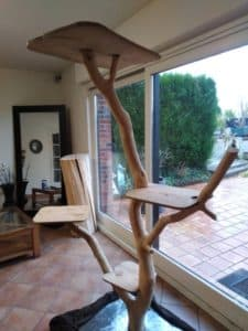 arbre a chat luxe design naturel hauteur