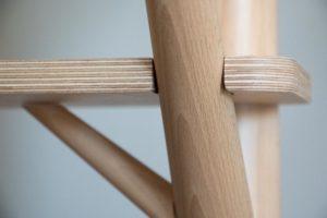 bois massif piece centrale