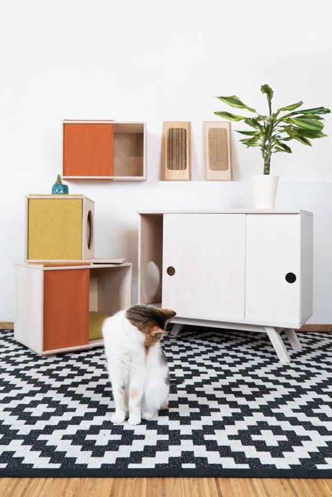 couchage design pour chat