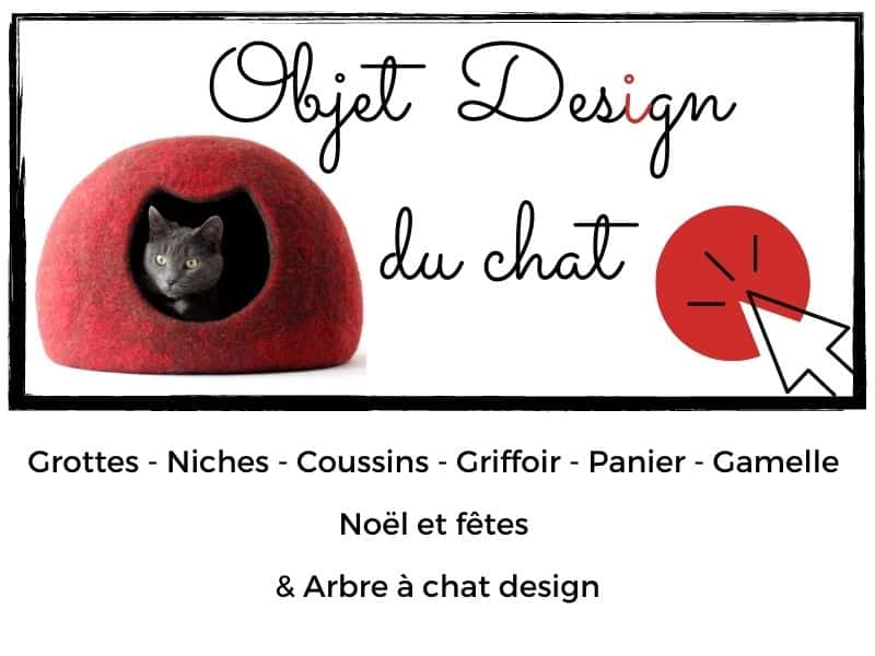 les objets design du chat