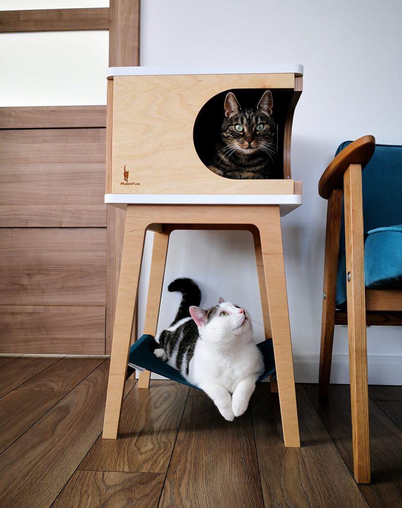 adapter le couchage du chat à son interieur
