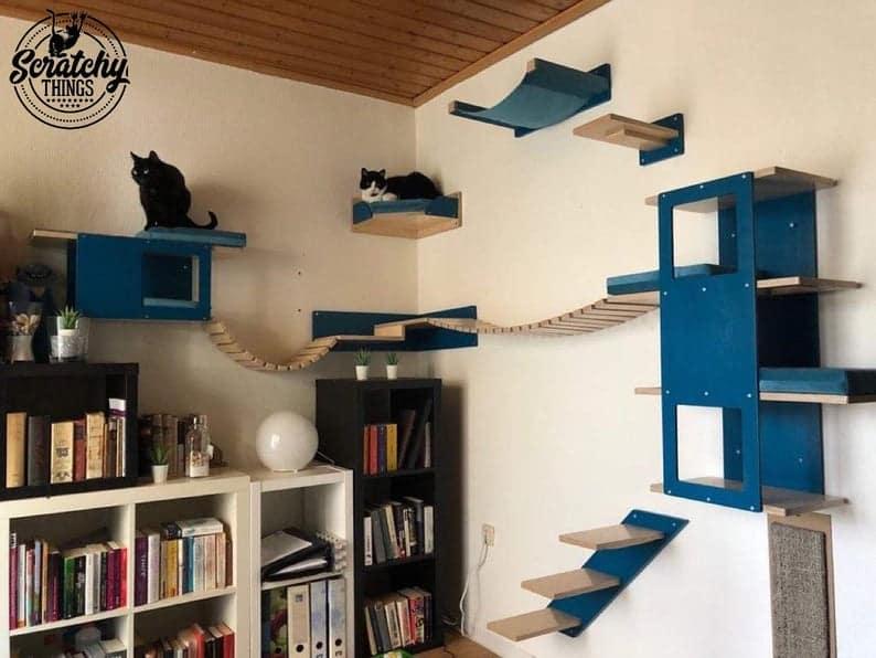 developpe le parcours du chat