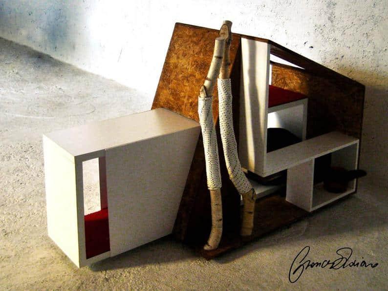 maison de chat structuree signature italienne