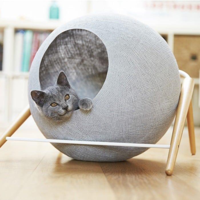 niche design en boule