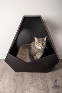 niche design triangulaire cinq cotes