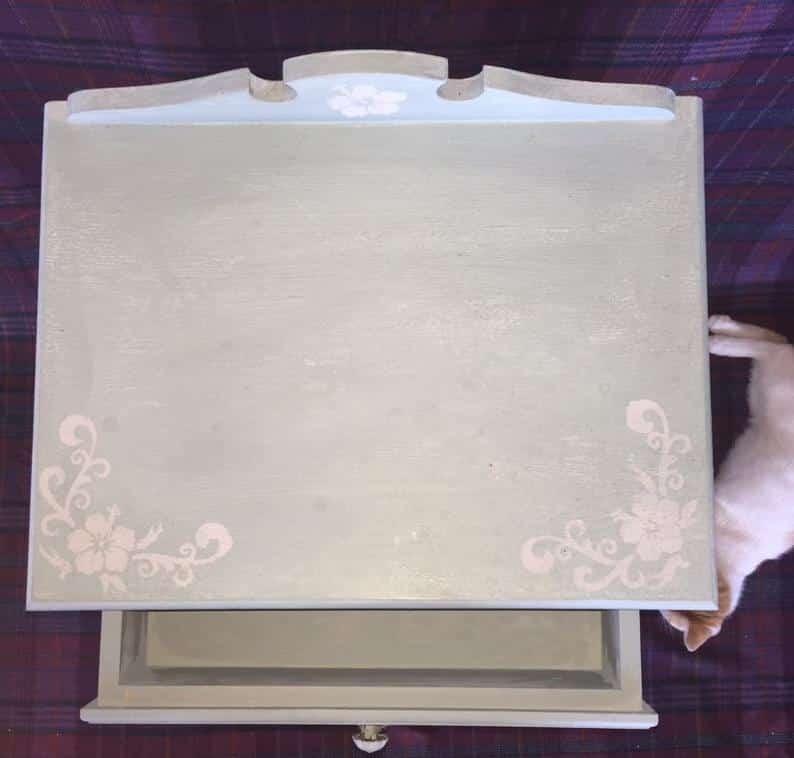 table niche vue de haut
