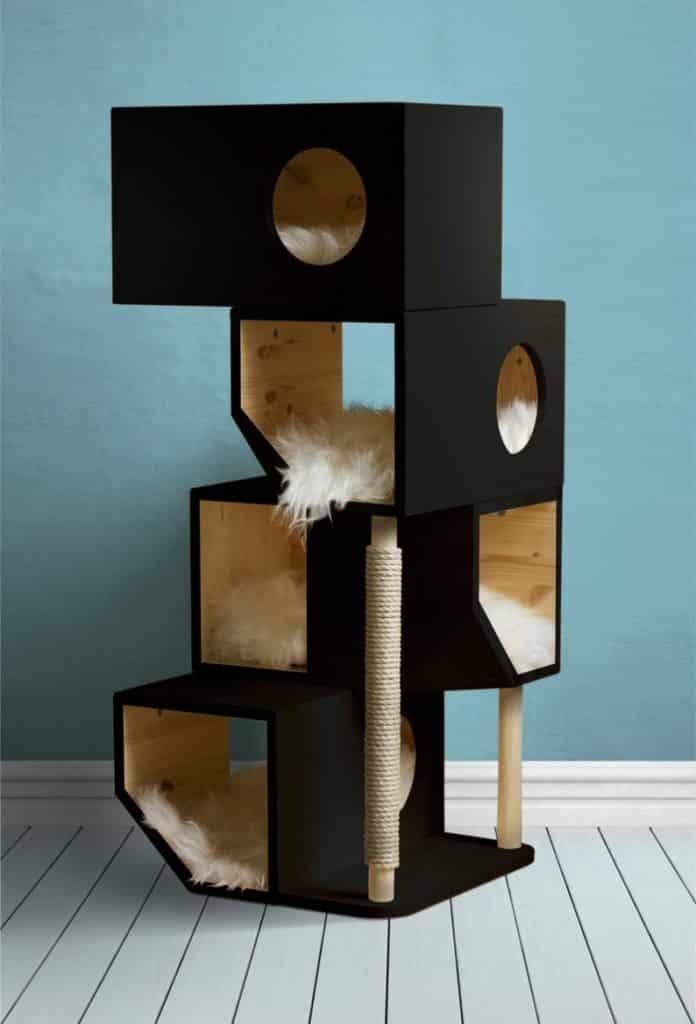 privilégier un style d'arbre à chat