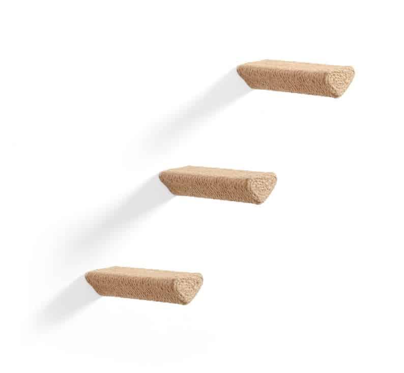 escalier griffoir 3 marches